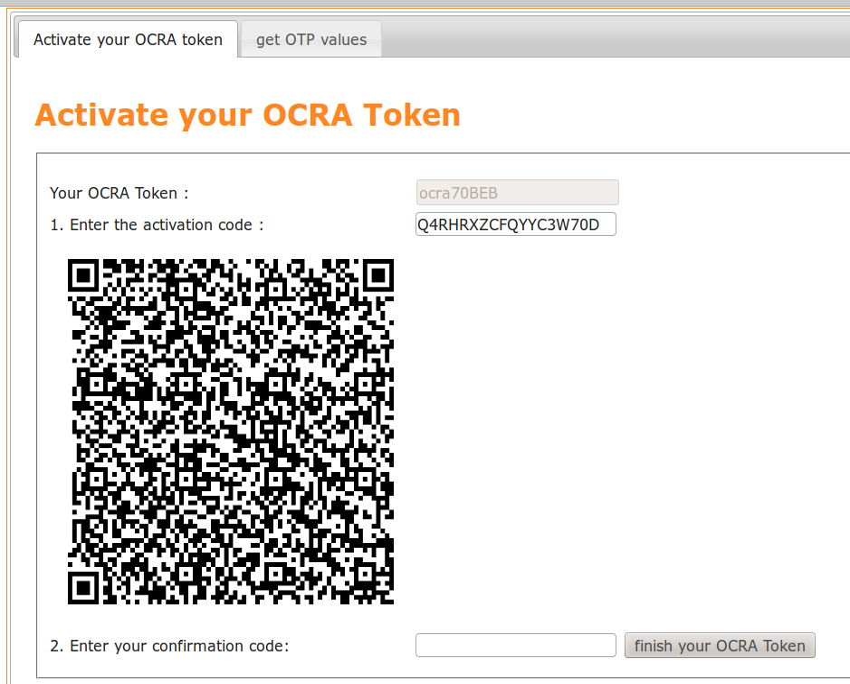 5 7  Enrolling tokens — LinOTP 2 10 6 documentation