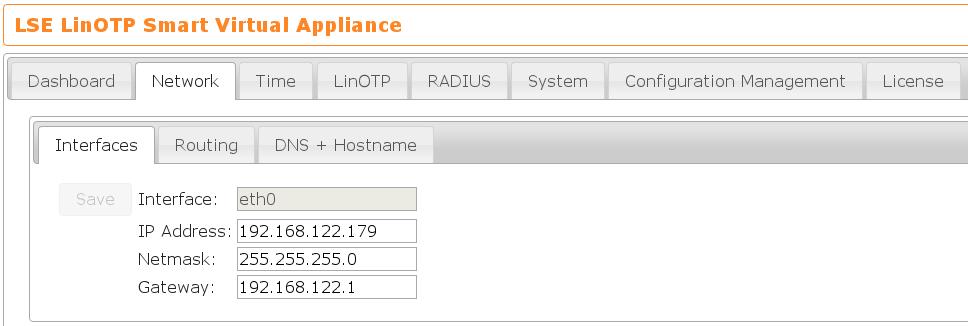 5  Configuring network settings — LinOTP 2 10 6 documentation